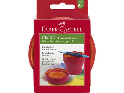 watercup Faber Castell Clic & Go blackberry