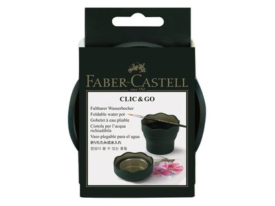 watercup Faber Castell Clic & Go donkergroen