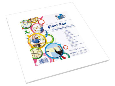 Info Notes 300x300mm Giant Pad wit blok a 50 vel